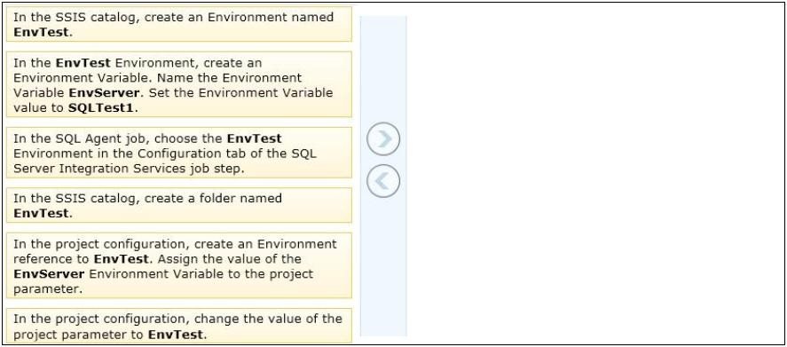 70-463 Exam – Free Actual Q&As, Page 8 | ExamTopics
